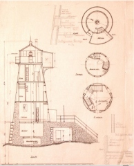 Tegning fra 1944